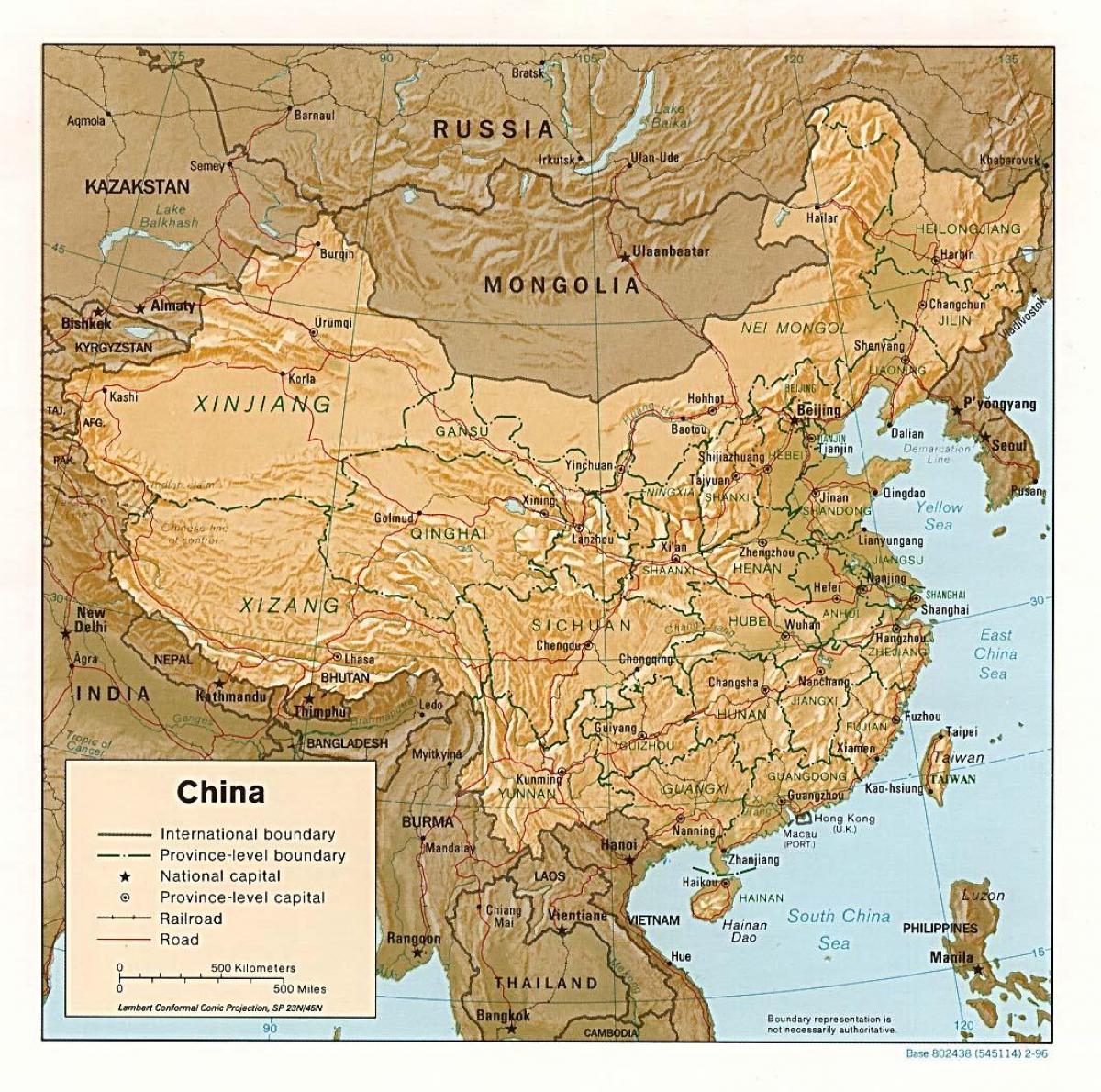 kína domborzati térkép Kína a domborzati térkép   Terep, térkép, Kína (Kelet Ázsia   Asia) kína domborzati térkép